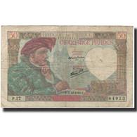 France, 50 Francs, Jacques Coeur, 1940-12-05, B, Fayette:19.4, KM:93 - 50 F 1940-1942 ''Jacques Coeur''