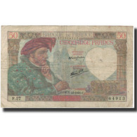 France, 50 Francs, Jacques Coeur, 1940-12-05, B, Fayette:19.4, KM:93 - 1871-1952 Antiguos Francos Circulantes En El XX Siglo