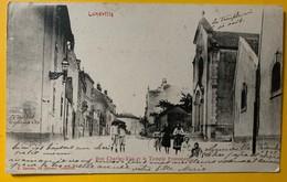 10069 -  Lunéville Rue Charles Vue Et Le Temple Protestant - Luneville