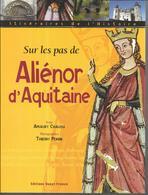 BH72 - SUR LES PAS DE ALIENOR D'AQUITAINE - AMAURY CHAUOU - 128 PAGES EDITIONS OUEST FRANCE- 2005 - Poitou-Charentes