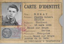 72 Bessé Sur Braye - Cartes