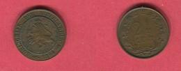 2 1:2 Cent 1894 (km 108 ) TB 22 - 2.5 Cent