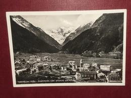 Cartolina Panorama Con Sfondo Ghiacciai - Cogne - 1954 - Italy