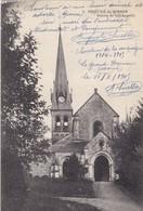 51 LE GRAND HAMEAU (ENVOYÉ DU) . PRIEURE DE BINSON. .SUPPORT DE TEXTE MILITARIA DU 11/JUILLET/1915 - Guerre 1914-18