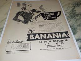 ANCIENNE PUBLICITE DEFENCE PASSIVE  BANANIA   1940 - Affiches