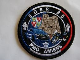 ECUSSON GENDARMERIE NATIONALE EDSR 80 PMO AMIENS PELOTON MOTORISE EXCELLENT SUR VELCROS - Police & Gendarmerie