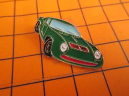 1215c Pin's Pins / Beau Et Rare / THEME : AUTOMOBILES / VOITURE SPORTIVE VERTE A IDENTIFIER - Pins