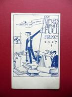 Cartolina Postale F.U.C.I. XV Congresso Nazionale Firenze 1927 Originale - Unclassified