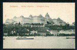 HONGRIE - BUDAPEST - Kiralyi Varpalota - Königliche Burg - Hongrie