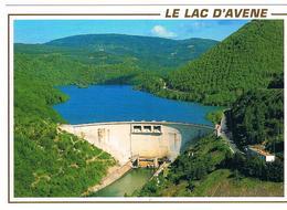 CPSM Lac Barrage D AVENE - Francia