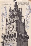 51 LE GRAND HAMEAU (ENVOYÉ DU) .84. AVIGNON. LE CLOCHER DE JACQUES MARC.SUPPORT DE TEXTE MILITARIA DU 26/JUIN/1915 - Guerre 1914-18