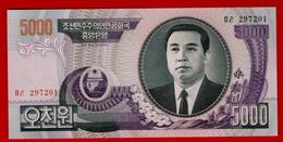 NORTH KOREA 5000 WON 2006 P-46A UNC - NEUF - Corea Del Norte