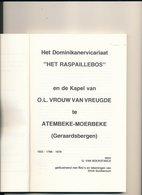Brochure GERAARDSBERGEN  RASPAILLEBOS EN KAPEL  ATEMBEKE MOERBEKE _  UITGIFTE LAND VAN AALST  1978 NR 5 EN 6 - Livres, BD, Revues