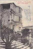 26 GRIGNAN. CPA. INTERIEUR DU CHÂTEAU. .SUPPORT DE TEXTE MILITARIA DU 4 AVRIL 1915 - Guerre 1914-18
