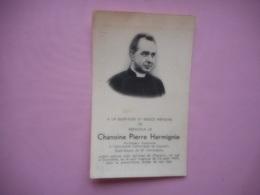 D.P.-OORLOG???MONSIEUR CHANOINE PIERRE HARMIGNIE PROF.HONORAIRE DE LOUVIAIN GURE -DOYEN ST.CRISTOPHE - Religion & Esotérisme