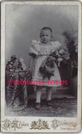 CDV  Fillette Et Sa Poupée- Jouet- Photo Zeman à Schumburg-Allemagne - Anciennes (Av. 1900)