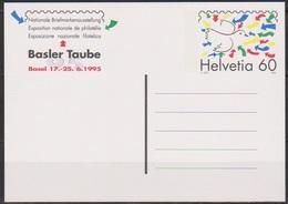 Schweiz Ganzsache1994 Nr.P 254 Ungebraucht .Stilisierter Taube (PK186)günstige Versandkosten - Stamped Stationery