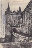 26 GRIGNAN. CPA. PORTE DU CHÂTEAU. .SUPPORT DE TEXTE MILITARIA DU 3 AVRIL 1915 - Guerre 1914-18