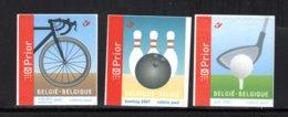 3603/3605 MNH 2007 - Sport. - Belgique