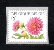 3684 MNH 2007 - Bloemen Rolzegel. - Belgique