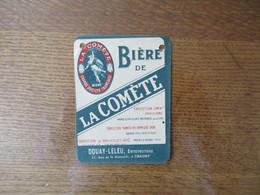 BIERE DE LA COMETE USINE & CAVES A CHALONS SUR MARNE DOUAY-LELEU ENTREPOSITAIRE 37 RUE DE LA BRASSERIE A CHAUNY - Bier