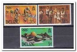 Belize 1976, Postfris MNH, Olympic Games - Belice (1973-...)