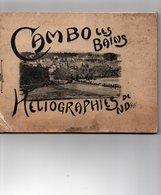 Carnet De 18 Heliographies - Dép 64 - CAMBO Le BAINS - Form. 21 Cm X 15,5 Cm - Couv. Abimée, Héliographies Bien - 5 Scan - Cambo-les-Bains