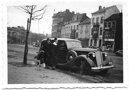 Oldtimer  Voiture Ancienne Automobile (Liège Boulevard Sauvenière)  Photo 9x6 - Personas Anónimos
