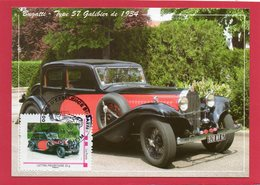 CM Bugatti ( Type 57 Galibier De 1934) - Timbres