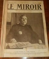 Le Miroir. N°37. 9 Août 1914. Premiers Départs De Mobilisés Le 2 Août.Manifestations à Paris Et Berlin. - 1900 - 1949