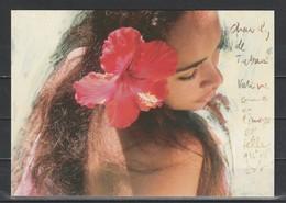 CPM Tahiti #605 - Femme Tahitienne - Tahiti