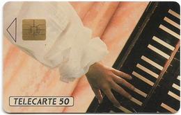 France - Mozart Sligos - Cat.D0565, Solaic 03 Afnor, 50Units, 01.1991, 1.200ex, Used - Francia