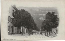 NANTUA. Avenue De La Gare Et Le Signal. - Nantua