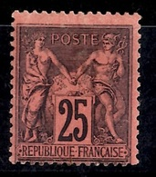 France Sage YT N° 91 Neuf *. Gomme D'origine. A Saisir! - 1876-1898 Sage (Type II)