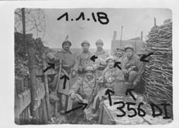 France  14-18 356 DI INFANTERIE GAZ PISTOLET GRENADES 01/01/1918 - Guerre, Militaire