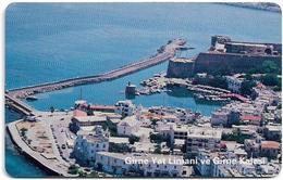 North Cyprus - Chip - K.K.T.C. - Girne Yat Limani Ve Kalesi (WITH Serial No.), 2000, SC7, 150U, Used - Chypre