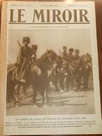 Le Miroir. N°39. 23 Août 1914. Les Croiseurs Vendus Aux Turcs.Les Tirailleurs Algériens. - 1900 - 1949