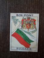 L20/200 Chromo Image Chocolat Pupier. Bon- Point. Bulgarie. Drapeau Et Armoiries - Chocolate