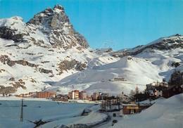 Cartolina Cervinia Breuil Panorama E Monte Cervino 1968 - Italy
