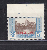 OCEANIE 141 FRANCE LIBRE LUXE NEUF SANS CHARNIERE - Oceania (1892-1958)
