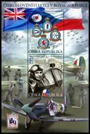 Czech Republic 2019    MNH Czechoslovak Pilots In The Royal Air Force - Militaria