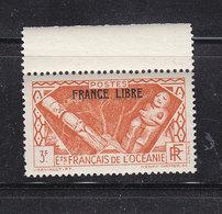 OCEANIE 145 FRANCE LIBRE LUXE NEUF SANS CHARNIERE - Oceania (1892-1958)