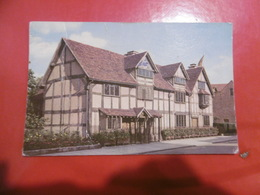 Shakespeare's Birthplace ( Carte Abimée) - Angleterre