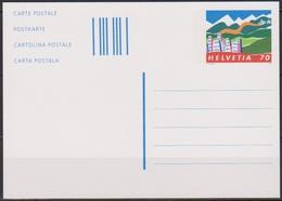 Schweiz Ganzsache1996 Nr.P 256 Ungebraucht  Stadt Und Land (PK190)günstige Versandkosten - Stamped Stationery