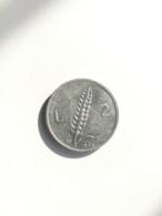 Moneta Lire 2 Spiga 1948 - BB - 1946-… : République