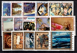 Polynésie Poste Aérienne YT N° 40/44, N° 55/59 Et N° 77/81 Neufs ** MNH. TB. A Saisir! - Aéreo