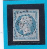 N° 14   PC  481   BOURGES  ( 17 )   CHER  -  REF 14112  + Variété - 1853-1860 Napoleon III
