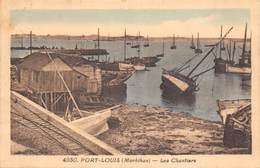 56 - Port-Louis - Les Chantiers - Port Louis