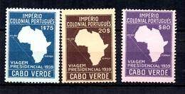 Cap Vert YT N° 244/246 Neufs ** MNH. TB. A Saisir! - Islas De Cabo Verde