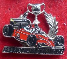 Pins ANCIEN PIN'S FERRARI EN DOUBLE ARGENTE - Ferrari